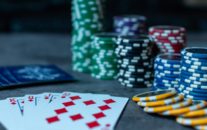 Increase the odds with your poker chips and cards